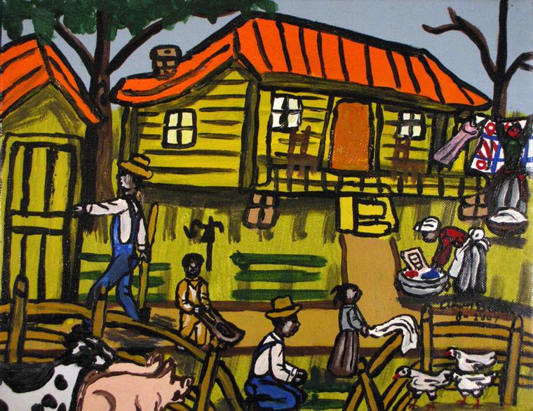 African American Folk Art Louisiana Artist