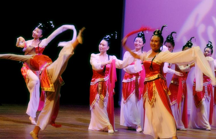 Traditional asian dances