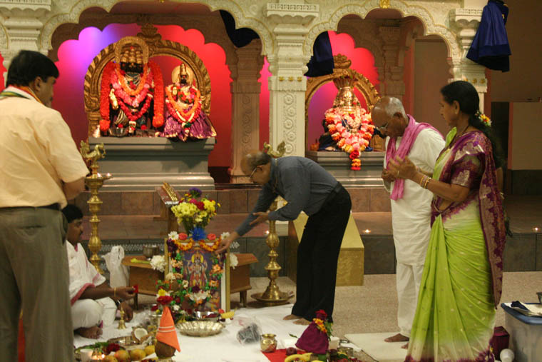Satyanarayana Puja: A Hindu Prayer Service in South Louisiana