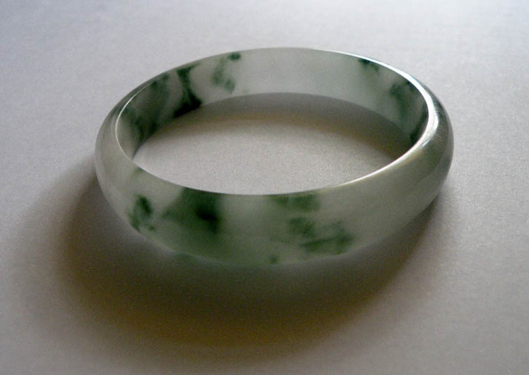 Jade Bracelet Worn For Good Luck On The Left Wrist Photo Emma Tomingas Hatch