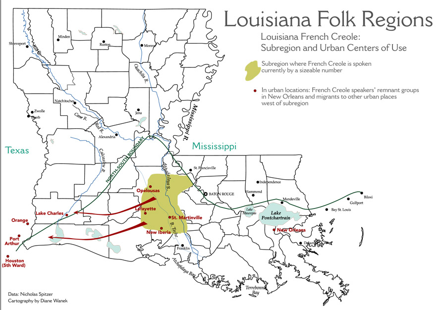 New Iberia Louisiana Map.Maps Of Louisiana S Living Traditions