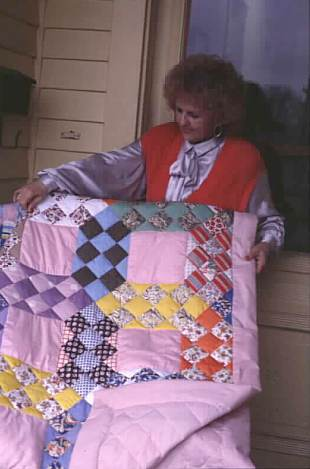 Many senior citizen centers continue the tradition of quilting bees as fundraisers for center activities. Quilts are often raffled or sold.